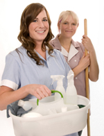 picture of house cleaning business ladies